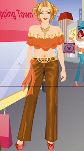 购物女孩换装游戏截图1