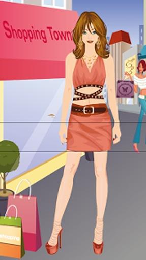 购物女孩换装游戏截图2
