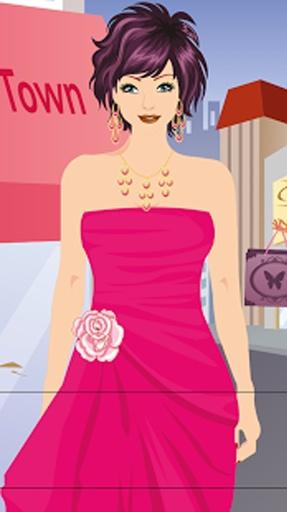 购物女孩换装游戏截图3