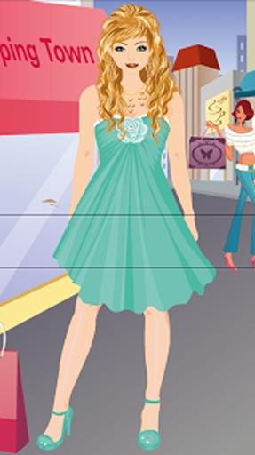 购物女孩换装游戏截图7