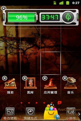 玩免費工具APP 下載万圣节主题桌面(桌面主题美化锁屏软件) app不用錢 硬是要APP