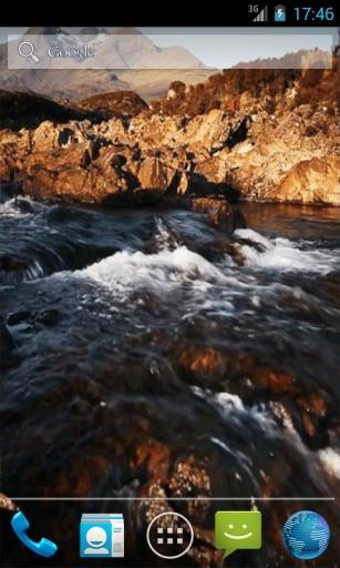 山区河流动态壁纸