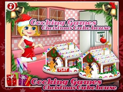 烹饪游戏:圣诞蛋糕