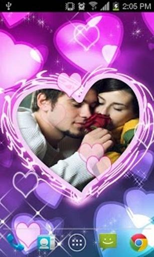 Love Frame Live Wallpaper截图0