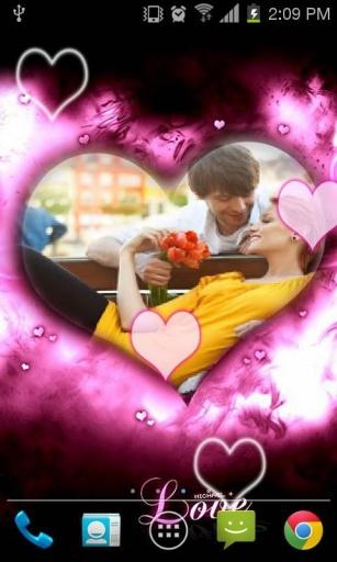 Love Frame Live Wallpaper截图6