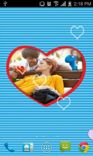 Love Frame Live Wallpaper截图9