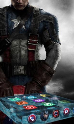 美国队长2精品-宝软3D主题截图1