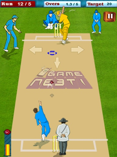 World Cricket War Ind Vs Aus世界板球大戰工業VS澳大利亞截图2