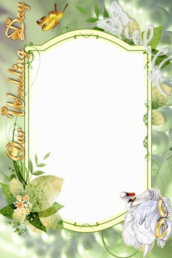 婚礼相册边框设计
