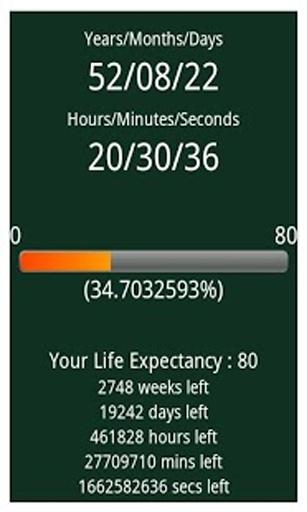 寿命计时器