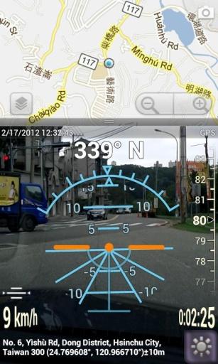 3D实景指南针