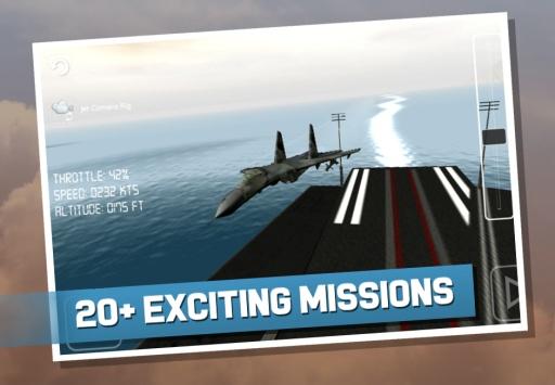 战斗机模拟飞行截图3