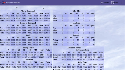 Cirrus Pilot LogBook截图4