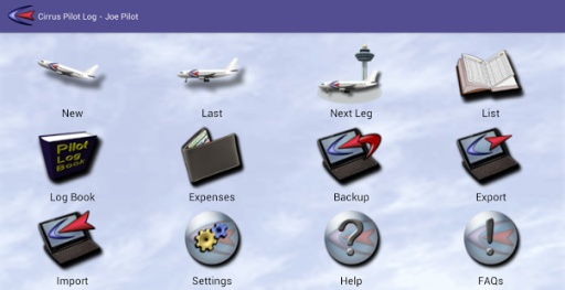 Cirrus Pilot LogBook截图7