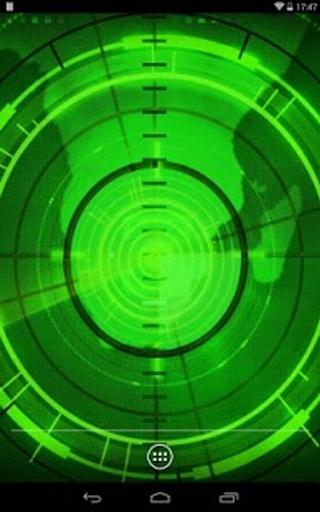 该雷达的菜或天线发射无线电波或微波的反弹在他们的路径中的任何对象