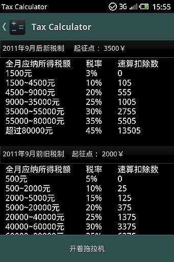 个税计算器 工具 App-愛順發玩APP