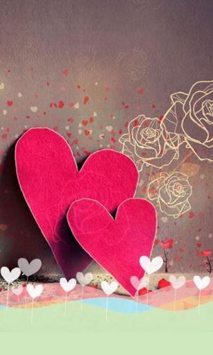 藏在心底的爱主题 桌面锁屏壁纸