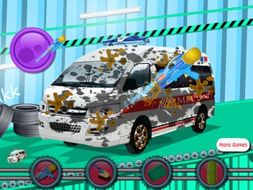救护车洗女孩游戏截图1