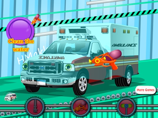 救护车洗女孩游戏截图3
