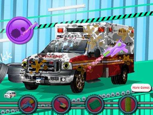 救护车洗女孩游戏截图5