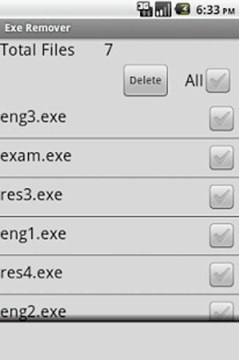 Virus EXE Remover截图1