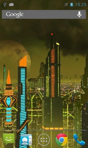 太空城动态壁纸