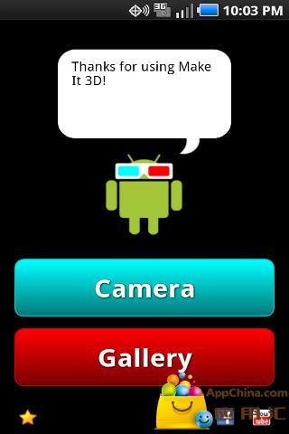 Make It 3D Free - 3D Camera