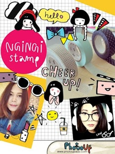 NgiNgi的照相贴纸截图4