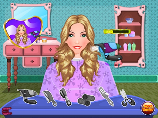 美发化妆游戏截图3