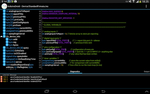 ArduinoDroid集成开发环境