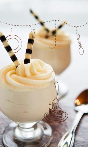 甜蜜冰淇淋主题(桌面锁屏壁纸)|玩工具App免費|玩APPs