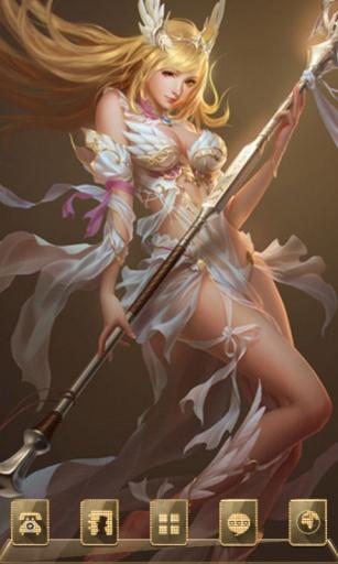 女神联盟之青春女神-宝软3D主题