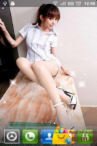 美女腿模Avy