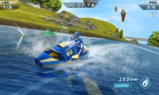 激流赛艇3D截图2