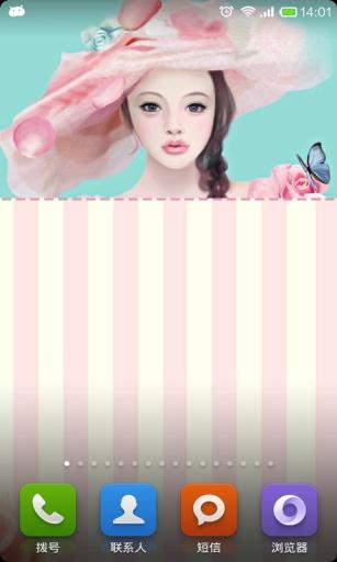 工具必備免費app推薦|可爱girl主题专属密码锁屏線上免付費app下載|3C達人阿輝的APP