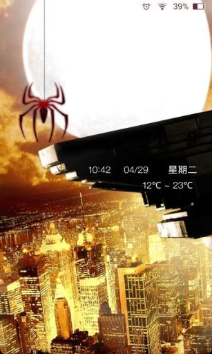 超凡蜘蛛侠2主题锁屏