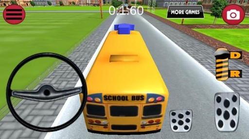 巴士停车-校车截图2