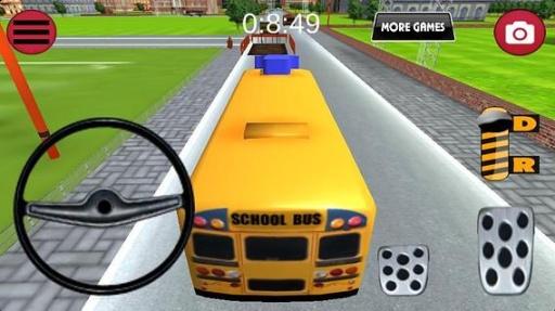 巴士停车-校车截图4