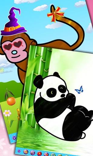 儿童画画填色涂鸦:动物v1.2