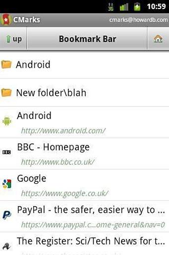 Chrome书签同步