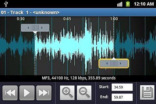 铃声制作和MP3播放机