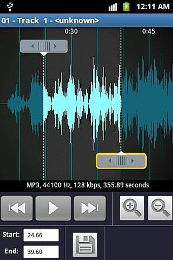 铃声制作和MP3播放机截图2