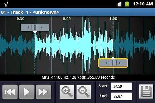 铃声制作和MP3播放机截图4