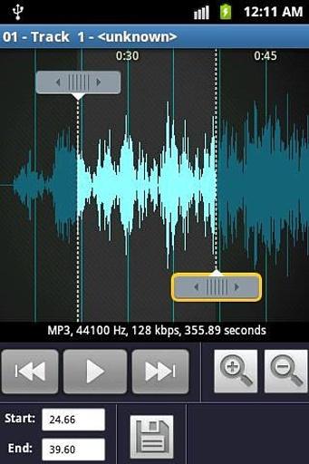 铃声制作和MP3播放机截图9