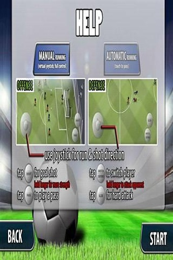 火柴人踢足球截图0
