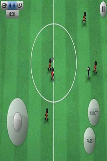 火柴人踢足球截图4