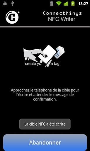 NFC Tag Reader/Writer截图2