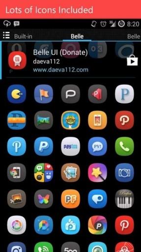 【免費工具App】BelleUI主题-APP點子