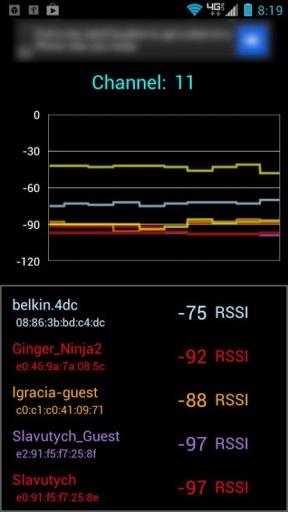 Wifi信道分析截图2
