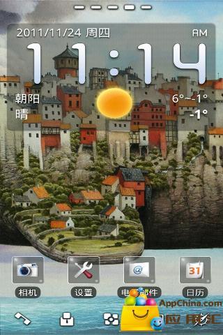 免費下載工具APP|GO主题-天空之城 app開箱文|APP開箱王